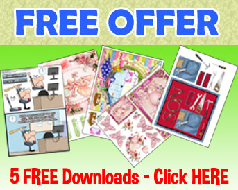 Free Card Making Downloads for Crafters on Craftsuprint