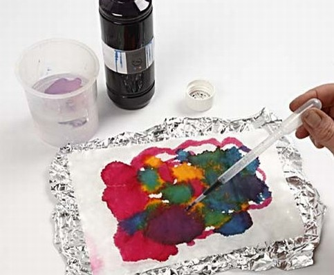 how to use rice paper in art