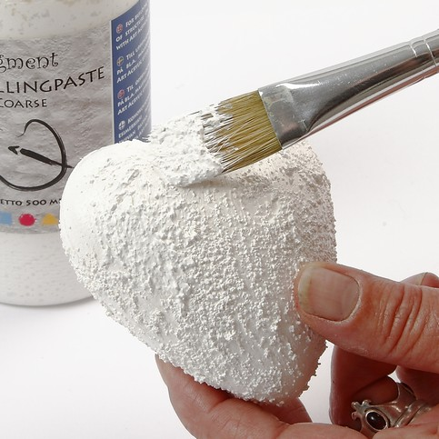 Polystyrene Stars and Hearts