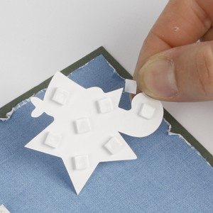 A greeting card with die cut card embellishments m4hsunfo