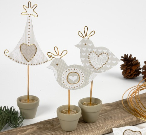 Christmas decorations you can make yourself 103790 for Christmas decorations to make yourself