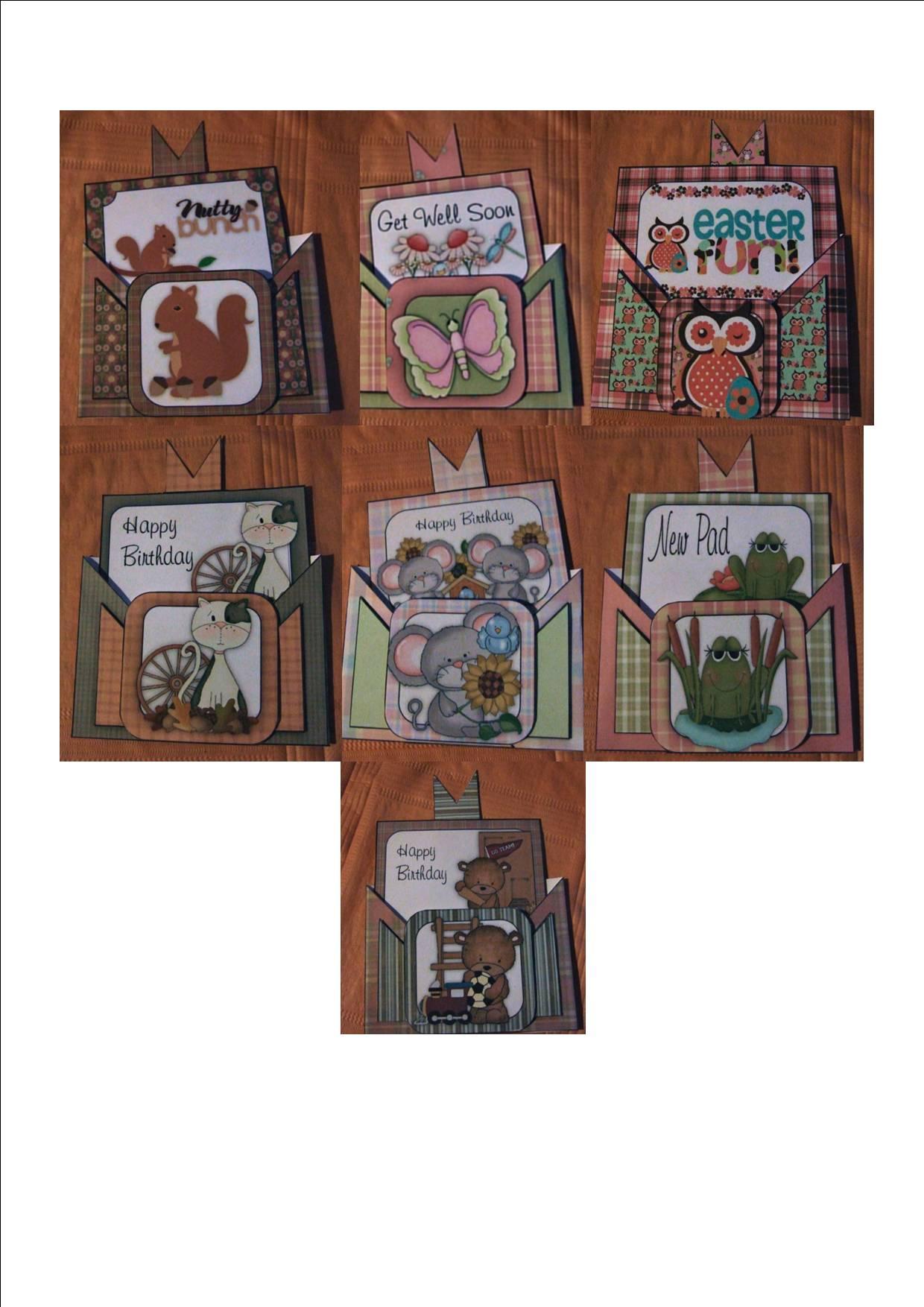 Criss cross pocket hedgehog birthday card cup308678 1416 for Cross in my pocket craft